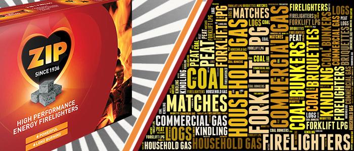 Firelighters, Matches, Coal Bunker, Logs, Kindling